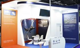 Custom Exhibition Stand -Britten Norman