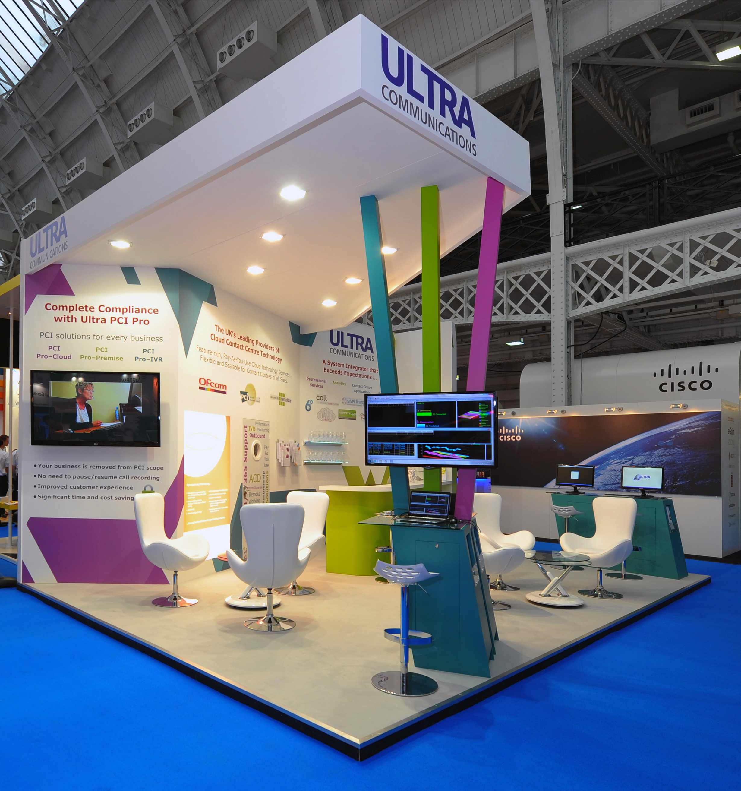 Exhibition Stand Work : Exhibiting at olympia