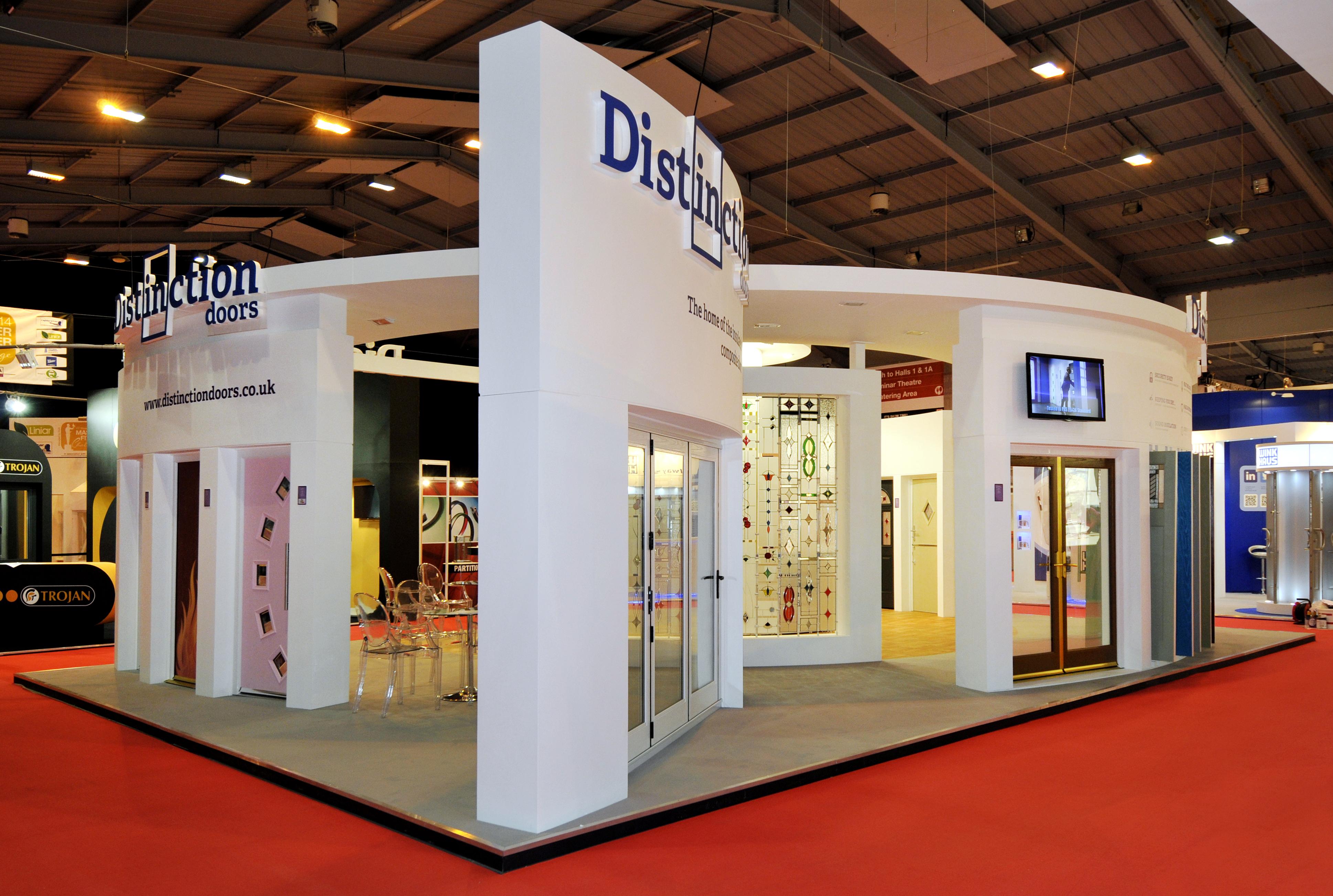 Exhibition Stand Design Yorkshire : Distinction doors quantum exhibitions and displays