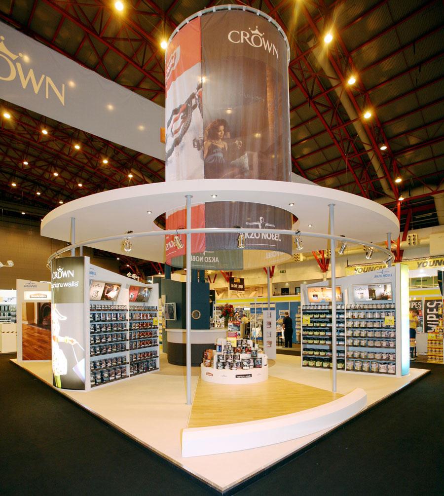 Exhibition Stand Build : Akzo nobel