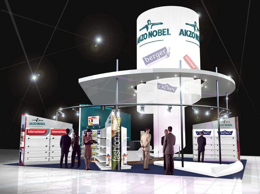 Exhibition Stand Design Yorkshire : Akzo nobel