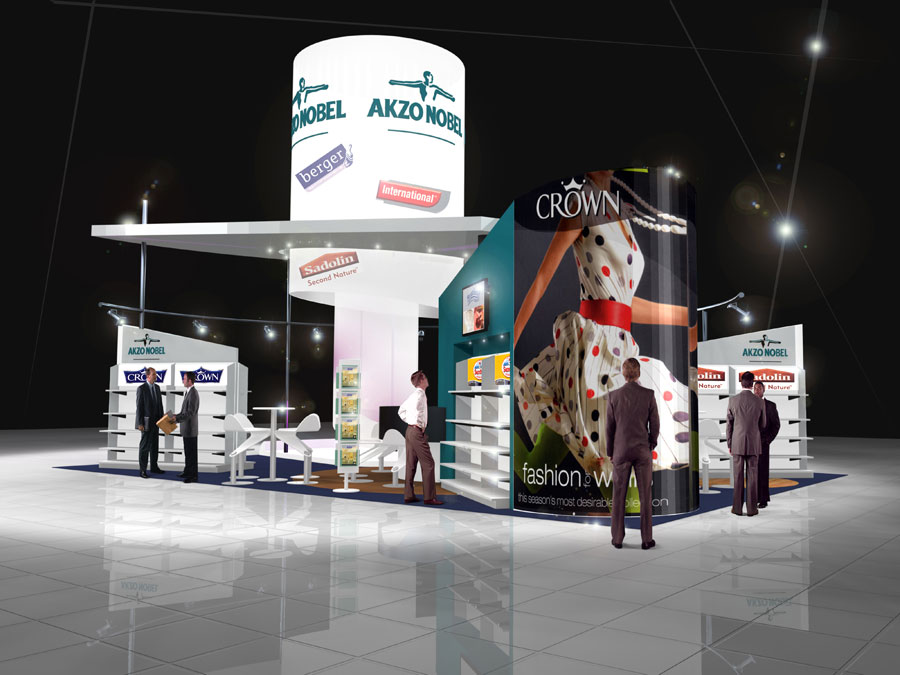 Exhibition Stand Builders Yorkshire : Akzo nobel