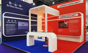 Custom Exhibition Stand -Britten Norman