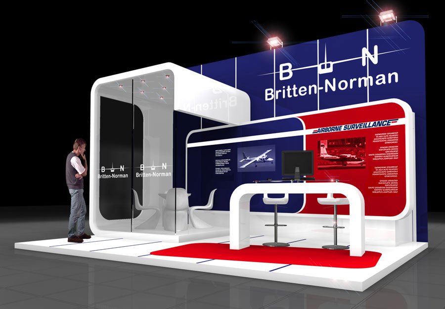 Exhibition Stand Builders Yorkshire : Britten norman quantum exhibitions and displays