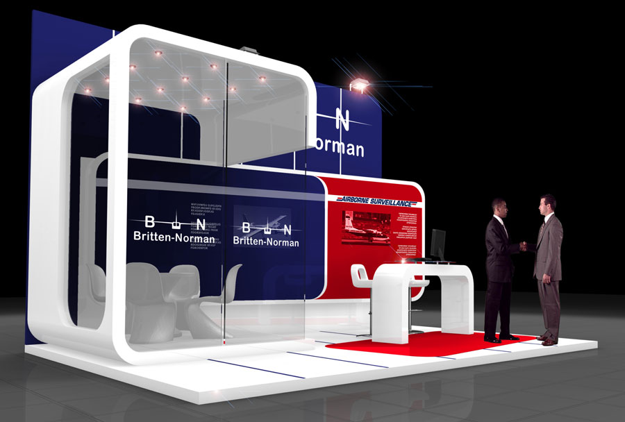 Small Exhibition Stand Sizes : Britten norman quantum exhibitions and displays