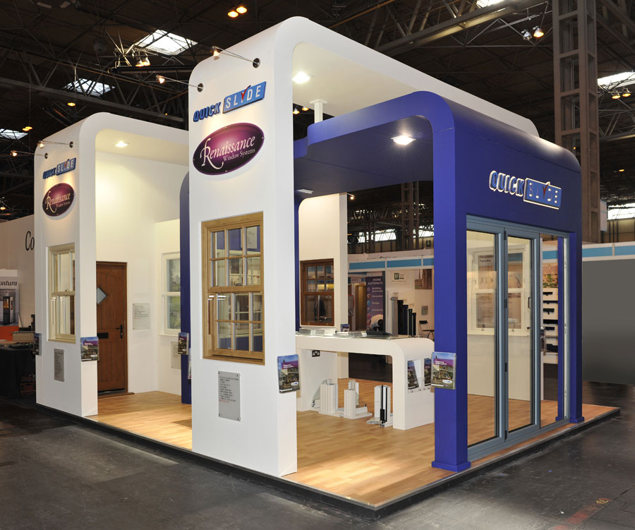 Exhibition Stand Builders Yorkshire : Quickslide quantum exhibitions and displays