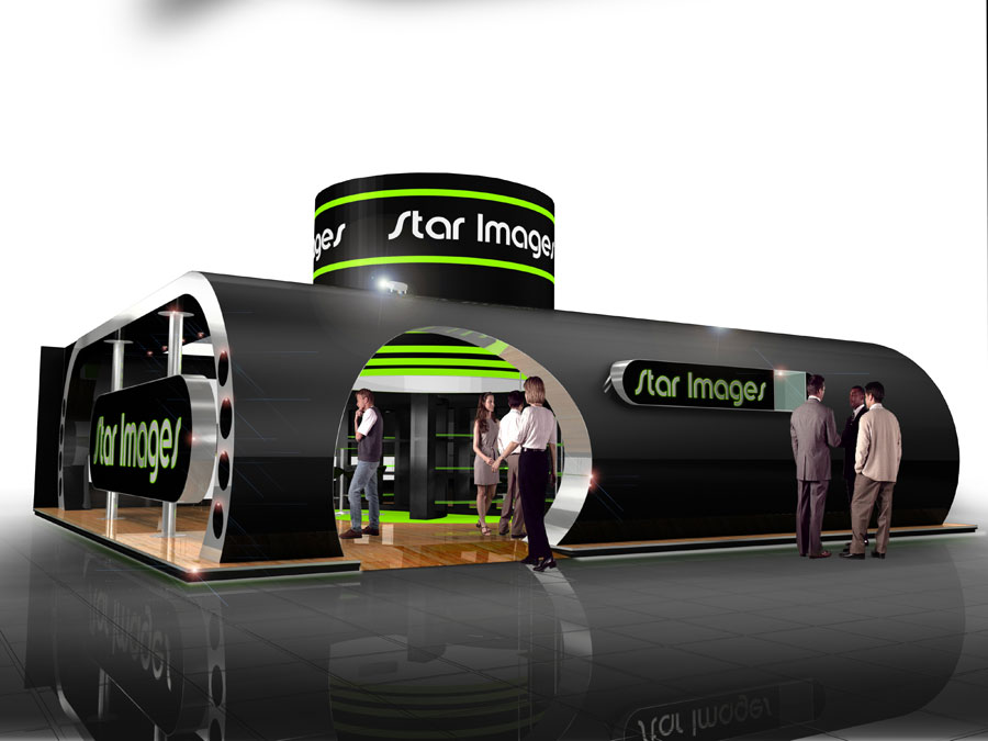 Exhibition Stand Builders Yorkshire : Star images