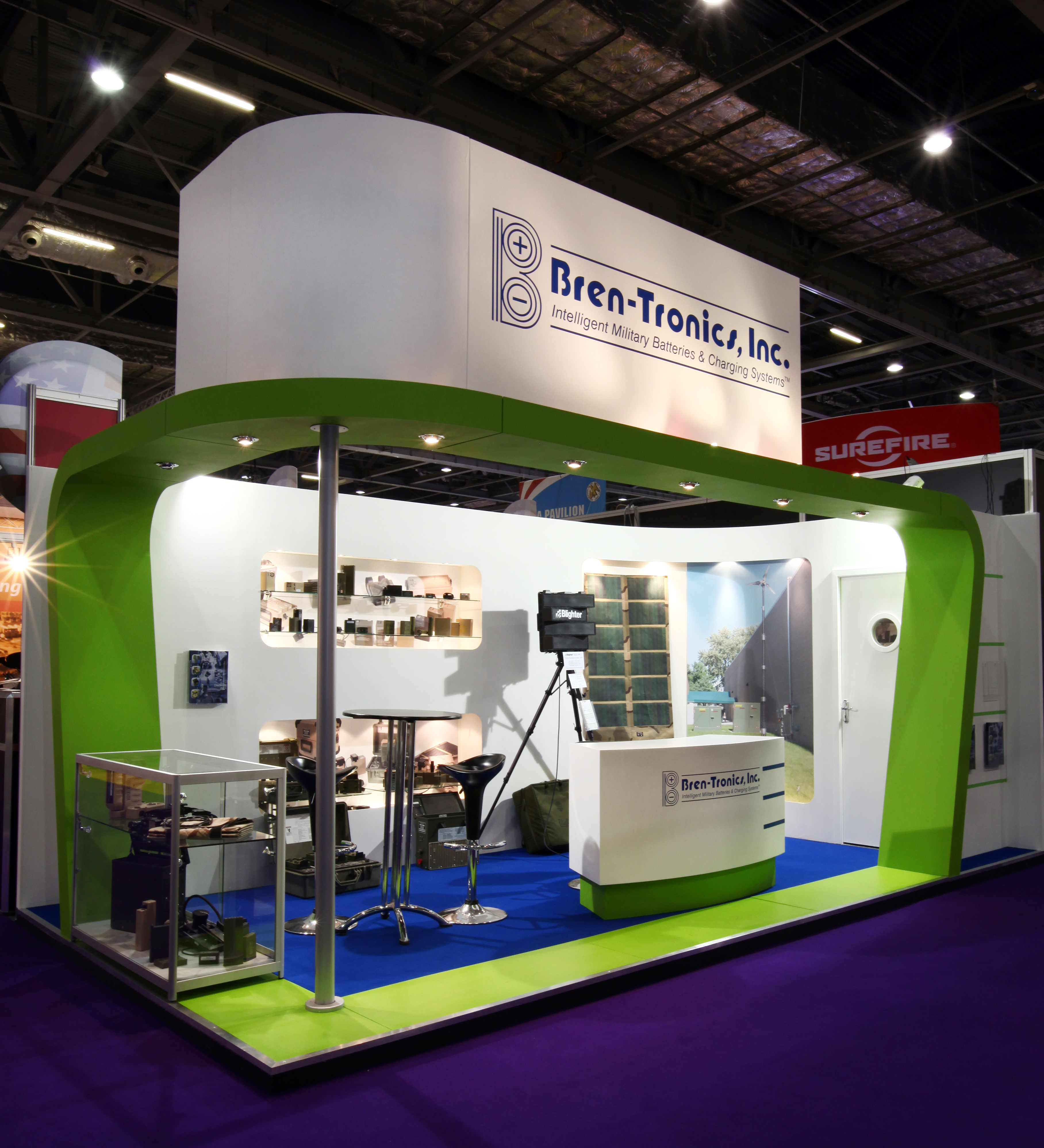 Exhibition Stand Builders Yorkshire : Bren tronics inc quantum exhibitions and displays