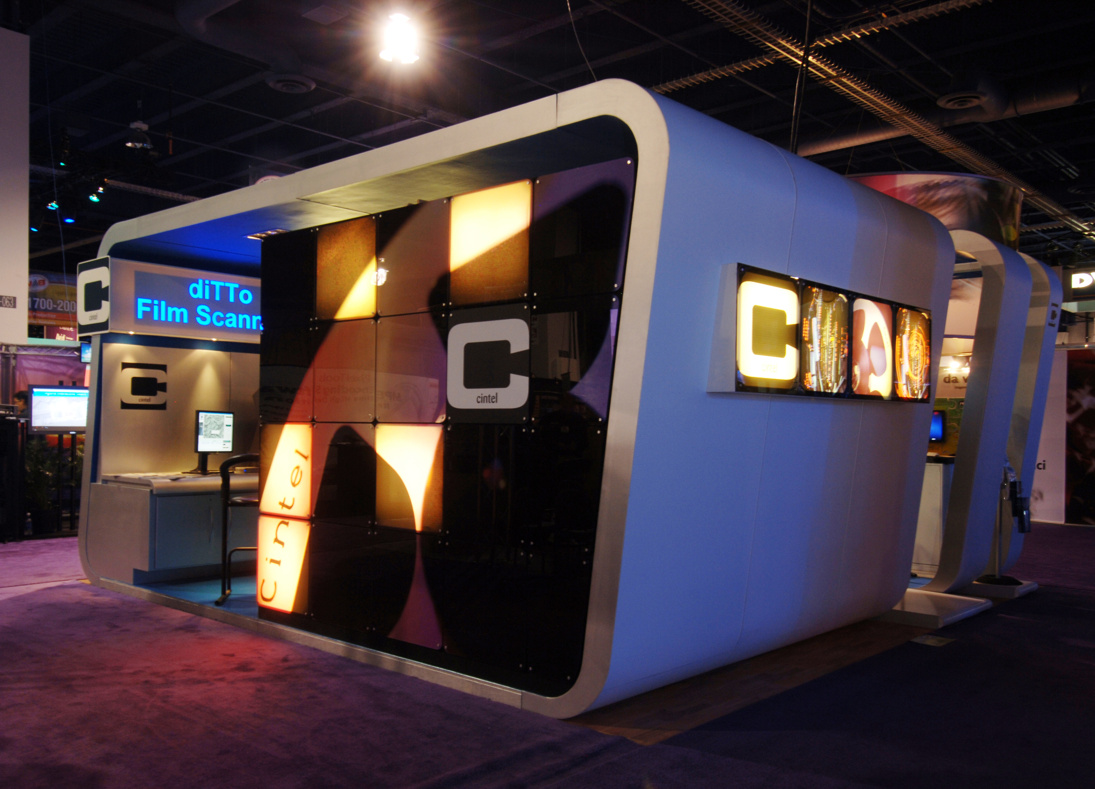 Exhibition Stand Design And Build Uk : Cintel international