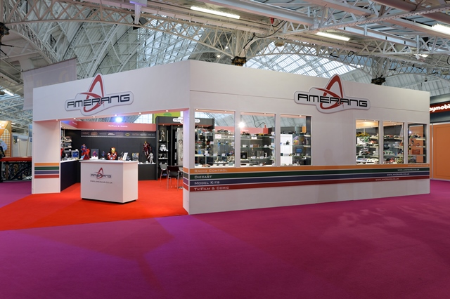 Exhibition Stand Builders Yorkshire : Amerang quantum exhibitions and displays