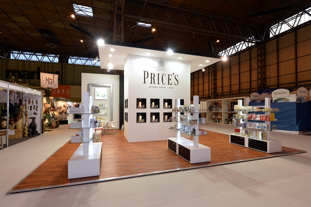 Exhibition Stand Builders Yorkshire : Price s candles