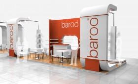 Custom Exhibition stand design - baroo
