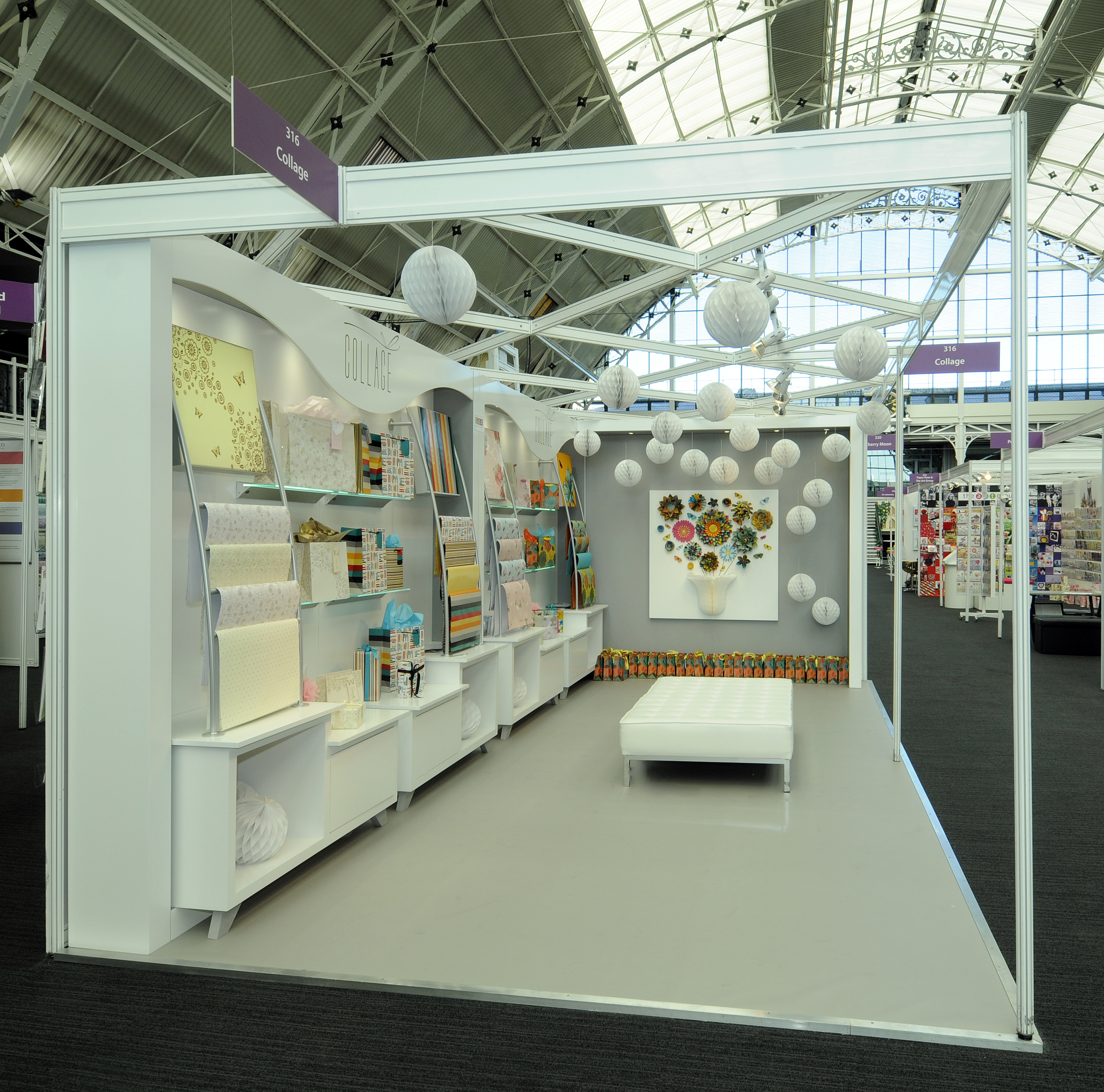 Bespoke Exhibition Stand Design : Uk greetings quantum exhibitions and displays