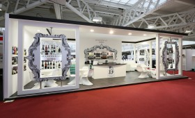 Buckingham Schenk at London International Wine Fair