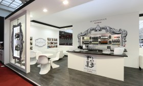 Custom Exhibition Stand and Design - Buckingham Schenk at London International Wine Fair