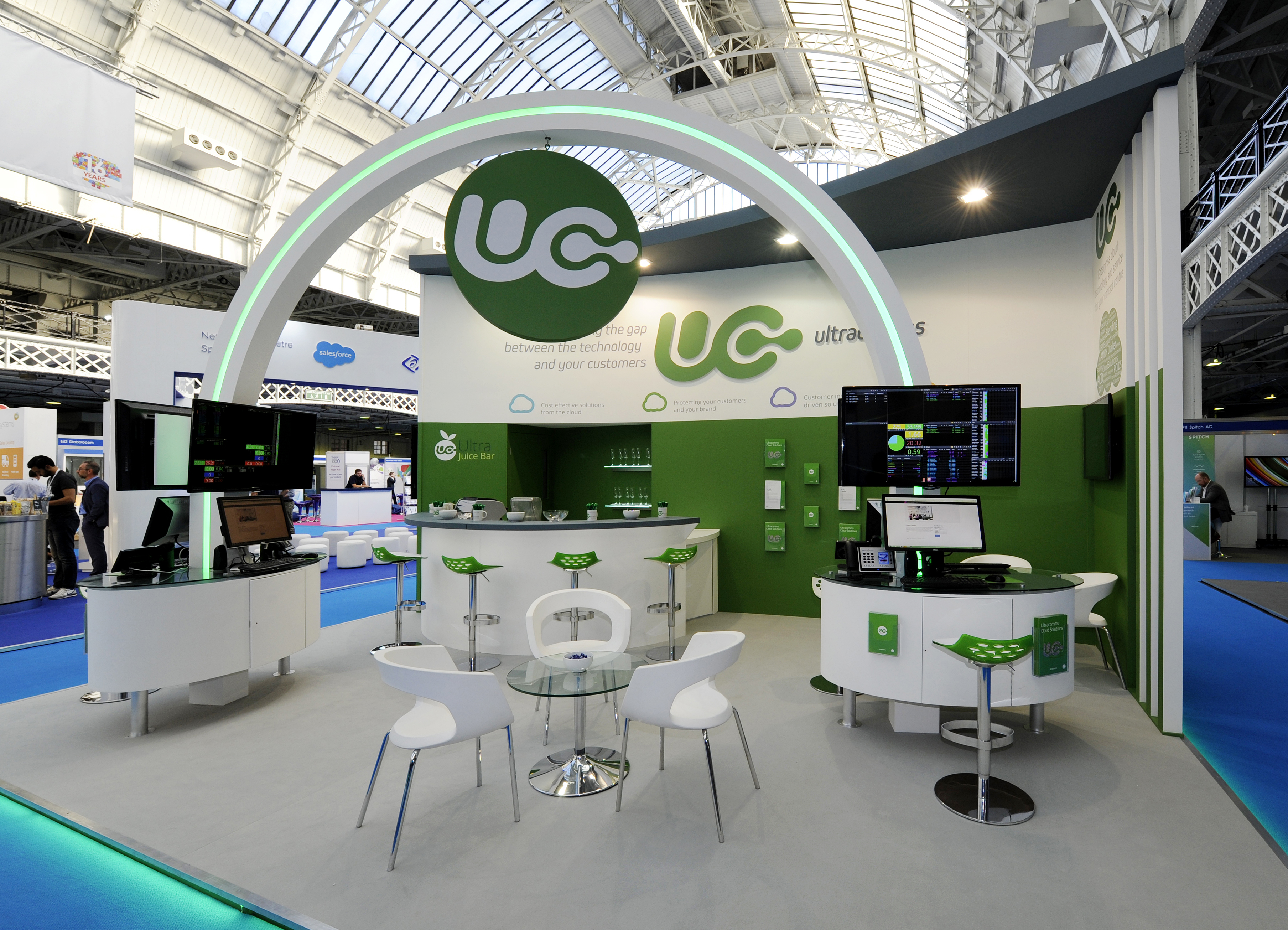 Exhibition Stand Design Yorkshire : Ultra communications