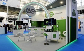 messe stand London