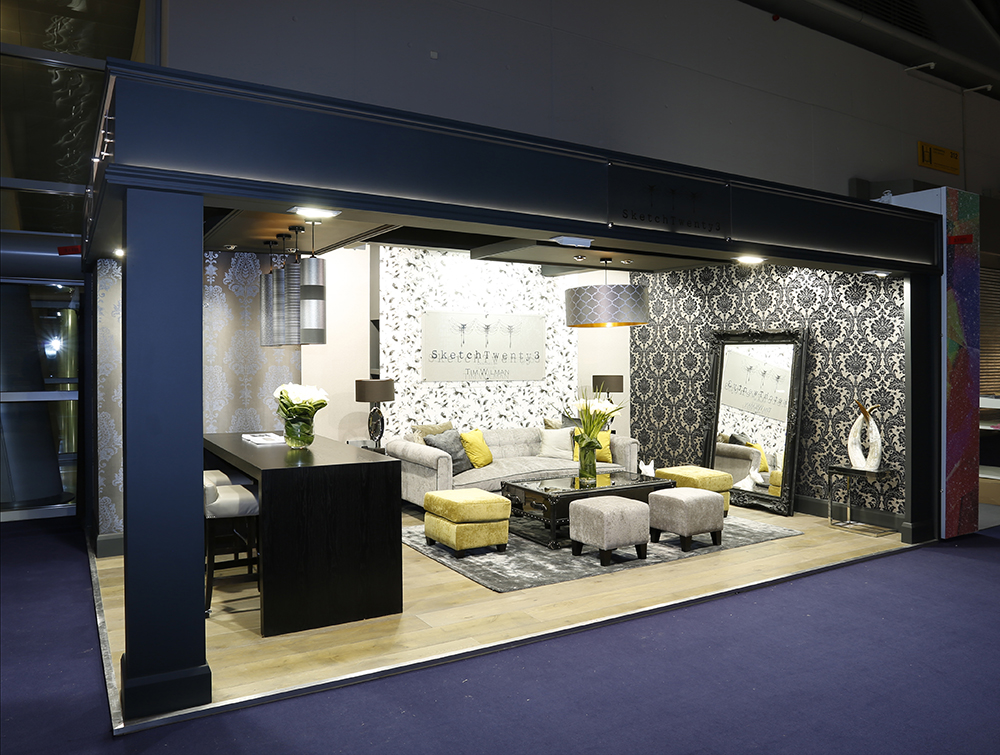 Exhibition Stand Wallpaper : Heimtextil