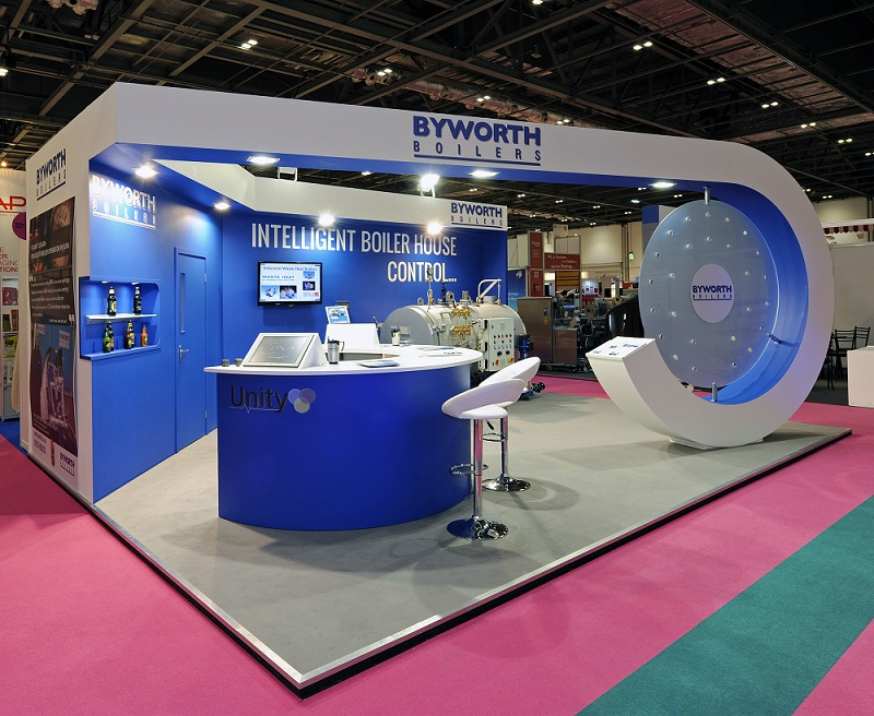 Exhibition Stand Design Guidelines : Byworth boilers quantum exhibitions and displays