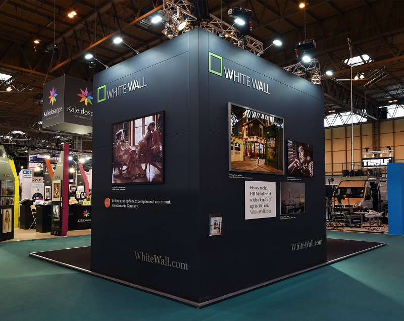Exhibition Stand Wall : White wall