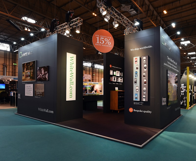 Exhibition Stand Design Yorkshire : White wall