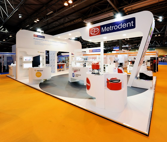 trad ebooth for Metrodent