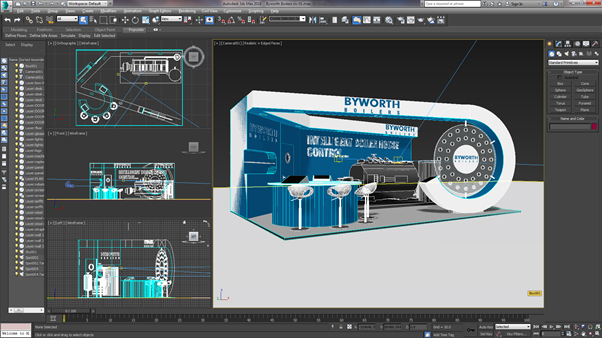 3d Exhibition Design Software : D exhibition stands