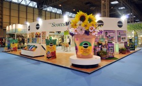 Exhibition Stand for The The Scotts Miracle-Gro Company