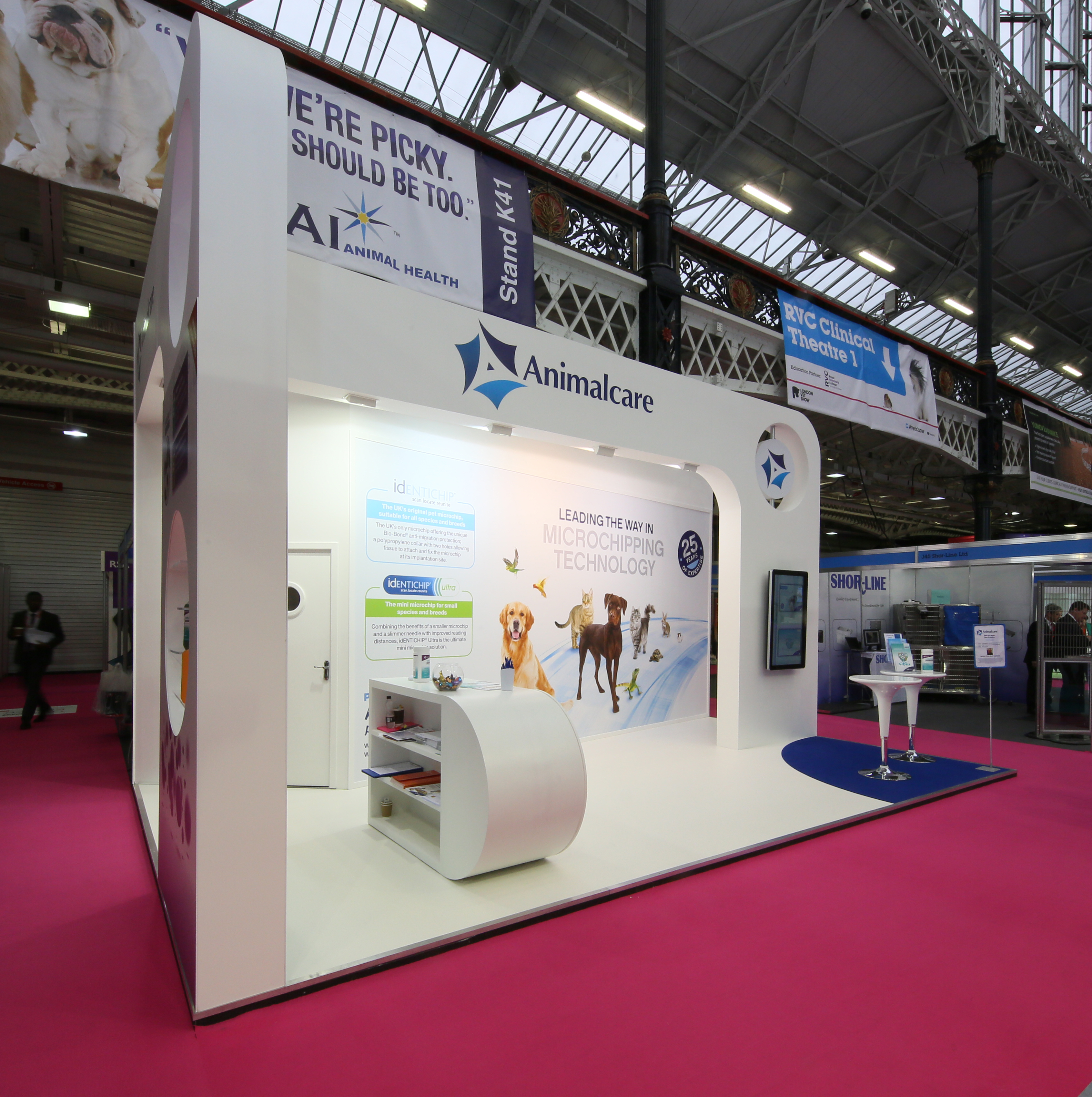 Exhibition Stand Build : Animal care