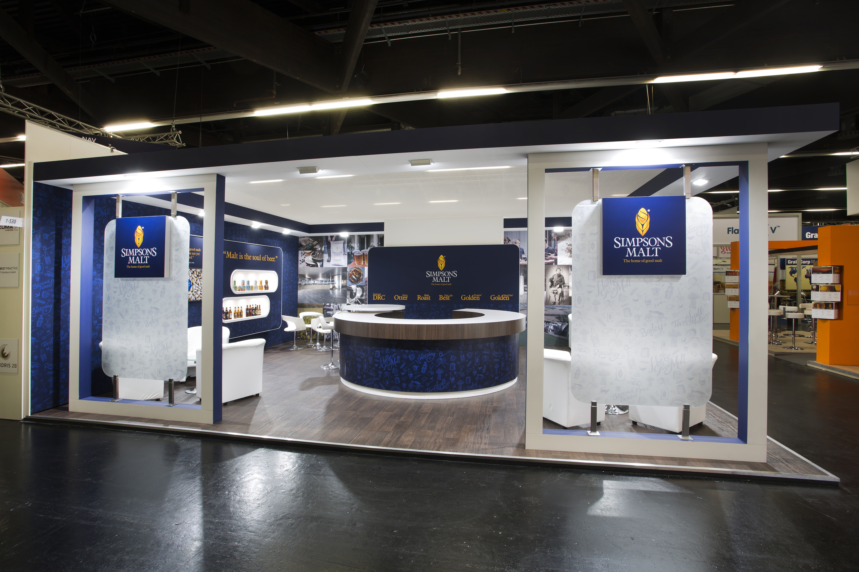 Exhibition Stand Design Best Practice : Simpsons malt